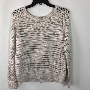 New York and Company crocheted sweater